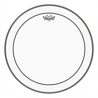 "REMO PS-1322-00 | Parche Pinstripe Clear 22"""