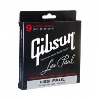 GIBSON  SEG-LP9   Set de cuerdas para guitarra eléctrica 9-42