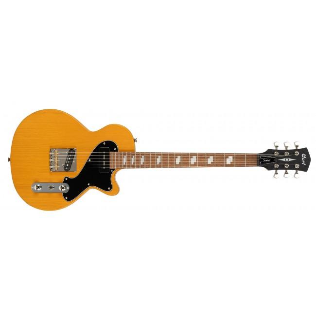 CORT SUNSETTC-OPMY | Guitarra Eléctrica Open Pore Mustard Yellow
