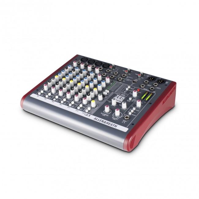 Allen & Heath ZED10-FX   Mezclador Multipropósito con FX para Sonido en Vivo y Grabación