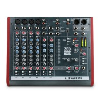 ALLEN & HEATH ZED1002 | Consola mixer de 10 canales