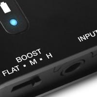 "M-AUDIO BASSTRAVELER   Amplificador Auriculares 2 Tomas Plug 1/8"""