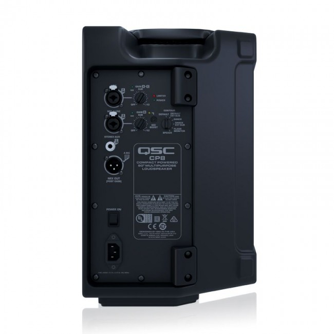 "QSC CP8 | Bafle amplificado compacto de 8"" de 1000w Clase D"