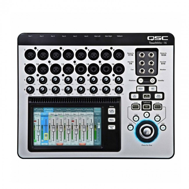 QSC TOUCHMIX-16 | Consola digital compacta de 22 canales
